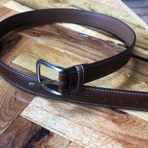 Men's brown belt Like New!